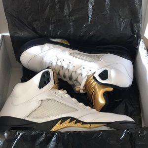 Air Jordan 5 Retro 'Olympic' Size 12